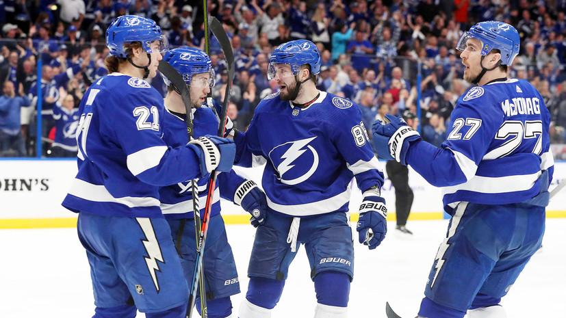 Два очка Кучерова помогли «Тампе» обыграть «Коламбус» в матче НХЛ