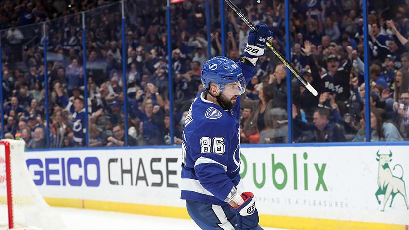В компании с Гретцки и Лемье: Кучеров набрал 70 очков за сезон в НХЛ и повторил достижение легендарных хоккеистов