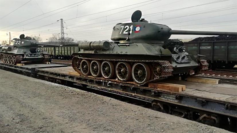 Лаос передал России советские танки Т-34