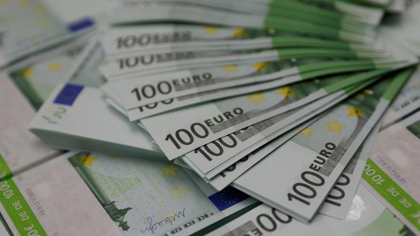 ЦБ снизил официальный курс евро на 10 января более чем на 2,55 рубля