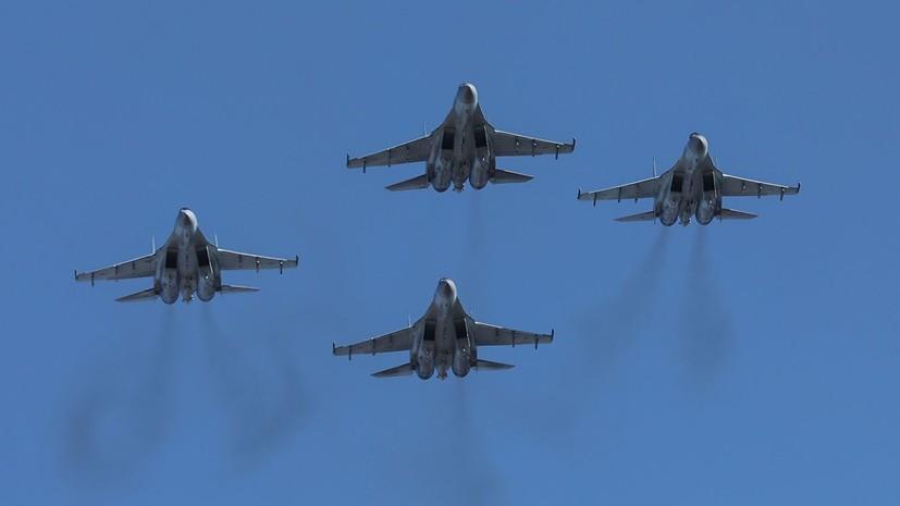 В авиационный полк ЗВО поступили первые истребители Су-35