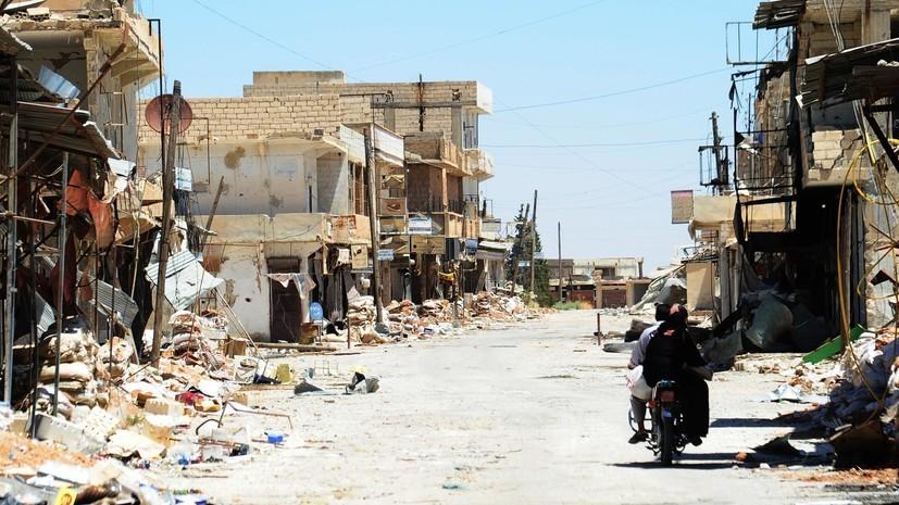 В МИД России призвали к немедленному началу работ по восстановлению Сирии