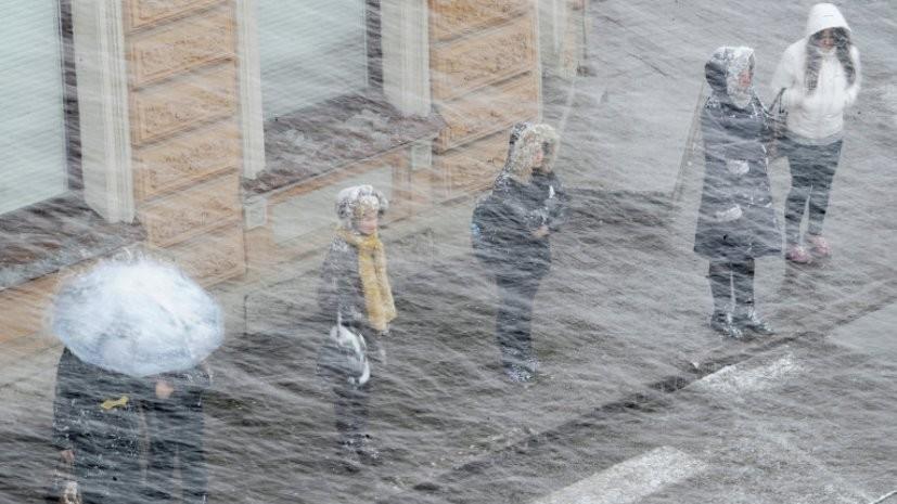 Синоптики предупредили о гололёде и метели в Ленинградской области