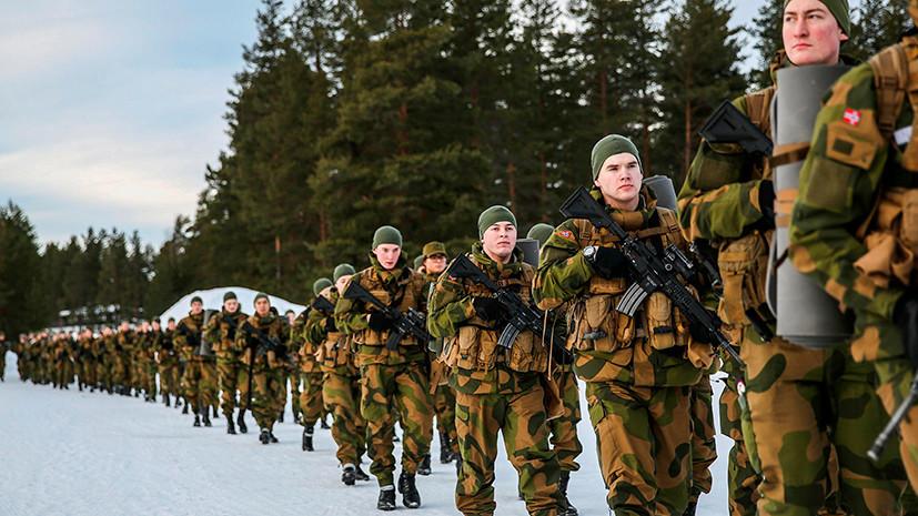 «Часть военно-медийной кампании»: министр обороны Норвегии предупредил о риске войны в Европе