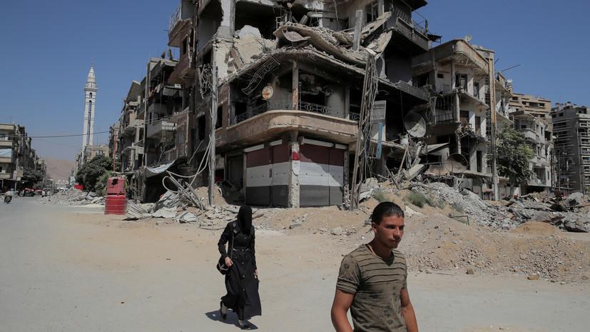 ЦПВС провёл гуманитарную акцию в сирийской Эс-Сувейде
