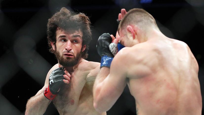 Болевой приём Магомедшарипова признан лучшим в UFC в 2018 году