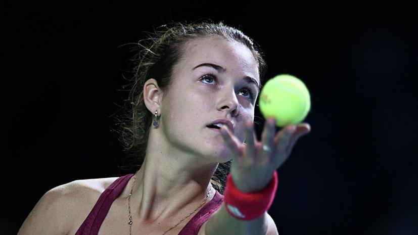 Четыре россиянки вышли в финал квалификации Australian Open