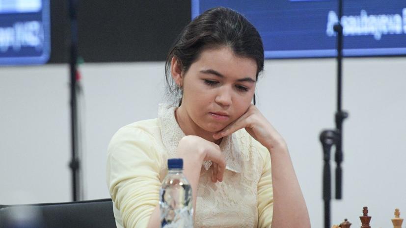 Горячкина прокомментировала своё выступление на ЧМ по рапиду в Петербурге