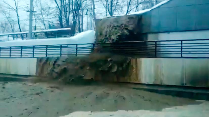 Движение в Тушинском тоннеле в сторону области полностью перекрыто