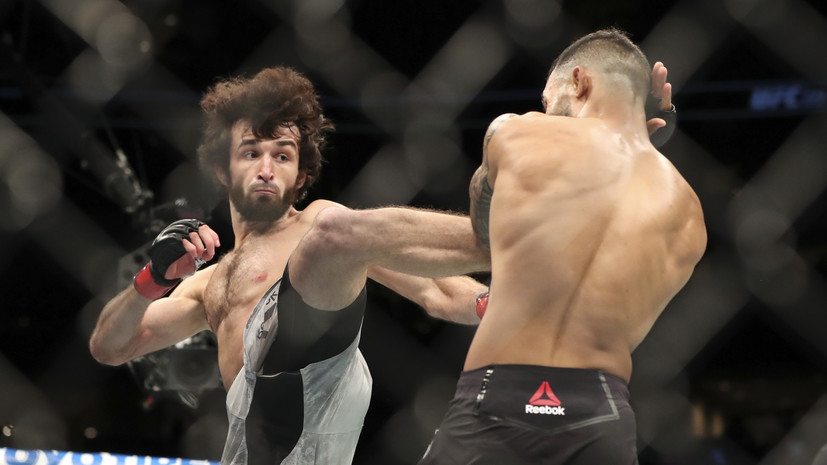 В Международной федерации самбо прокомментировали победу Магомедшарипова в номинации «Болевой приём года» в UFC