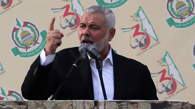 Визит лидера ХАМАС в Россию перенесён