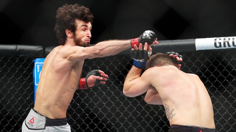 «Доказательство универсальности спортивного самбо»: UFC признал болевой приём Магомедшарипова лучшим в 2018 году