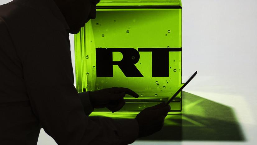 RT занял второе место в рейтинге самых цитируемых медиаресурсов в декабре