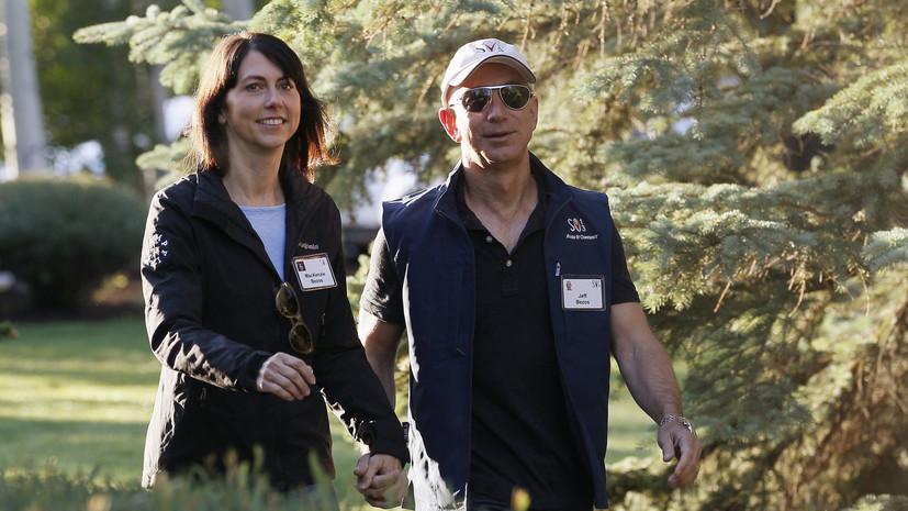 Трамп пожелал удачи разводящемуся с женой главе Amazon