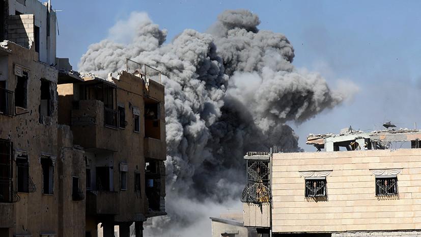 «Игра на публику»: Помпео заявил о готовности США к новым авиаударам по Сирии