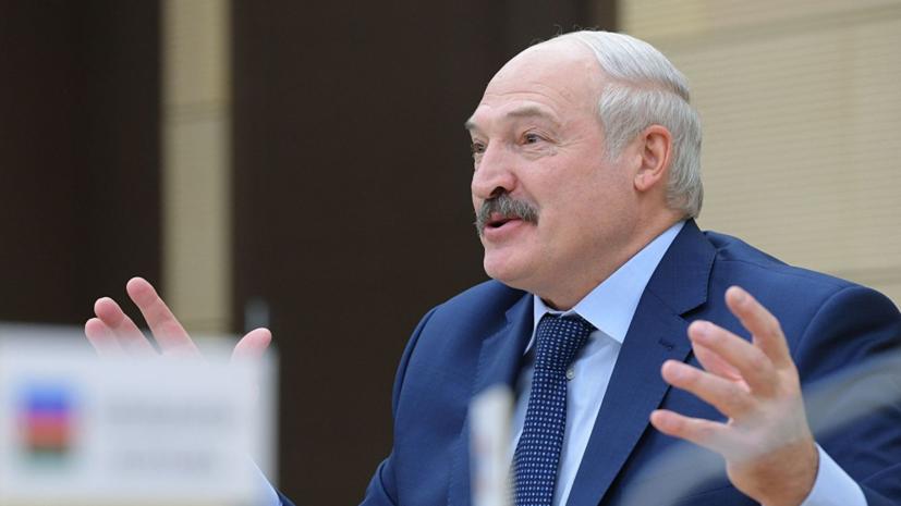 Лукашенко заявил, что Белоруссию «будут пробовать на зуб»