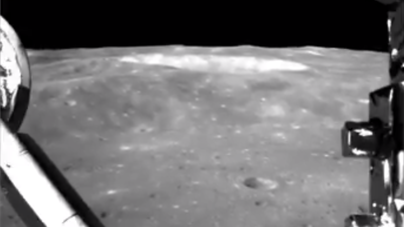 Эксперт прокомментировал публикацию видео посадки лунохода на обратную сторону Луны