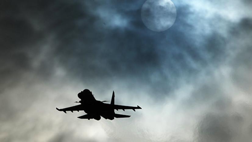 Морская авиация ЧФ провела тренировочные полёты в сложных метеоусловиях