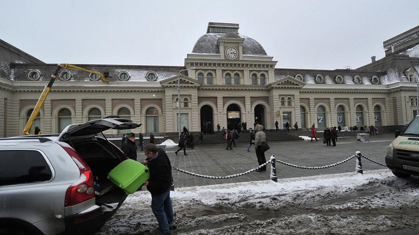 Задержан подозреваемый в сообщении о минировании Павелецкого вокзала