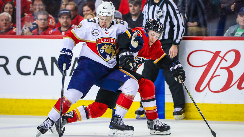 Гол Дадонова не спас «Флориду» от пятого поражения подряд в НХЛ