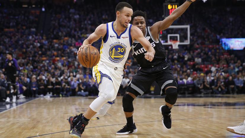 Карри вышел на третье место по точным трёхочковым броскам в истории НБА