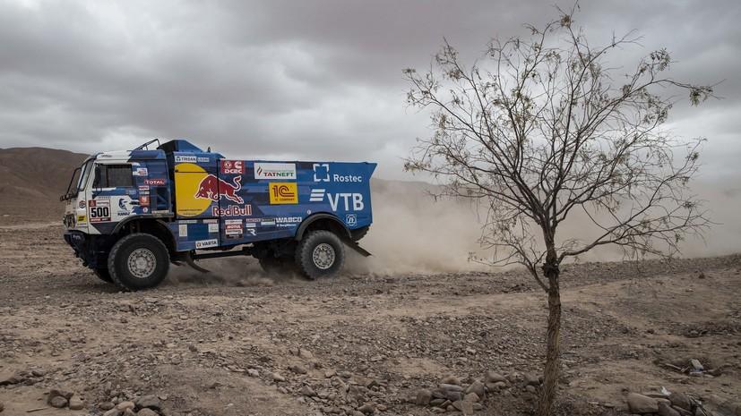 Победа Николаева, дисквалификация Каргинова, проблемы Карякина: в Перу завершился пятый этап ралли «Дакар»