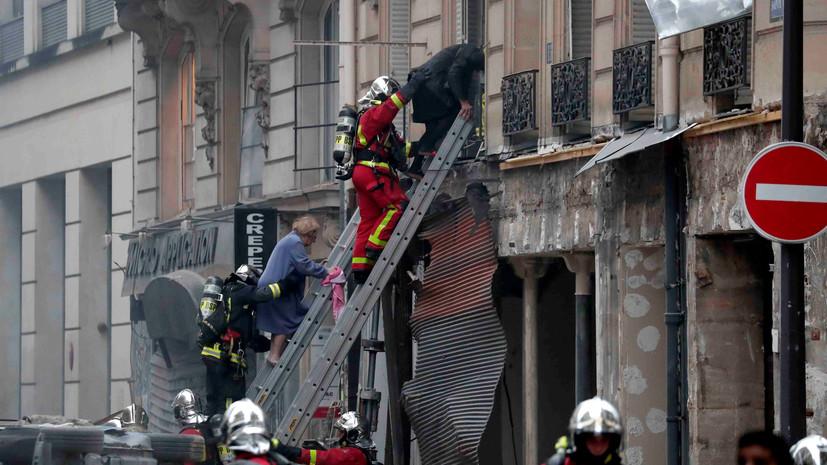 Премьер Франции и глава МВД прибыли на место взрыва в Париже