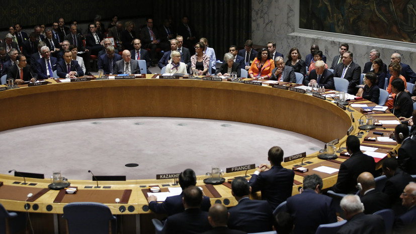 В Совфеде ответили на заявление Украины о поэтапной отмене права вето в Совбезе ООН