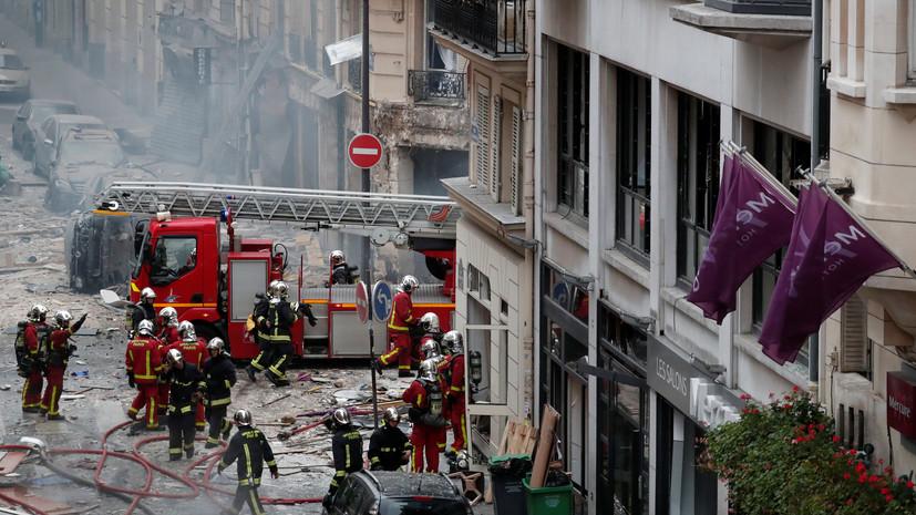 Глава МВД Франции уточнил число жертв взрыва в Париже