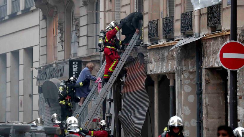 Пострадавшая при взрыве в Париже испанка скончалась
