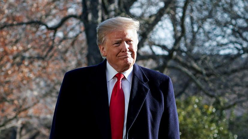Эксперт оценил слова Трампа о наличии у него плана по шатдауну