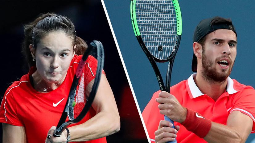 «Хачанов может претендовать на звание фаворита»: Чесноков о турнирном раскладе и перспективах россиян на Australian Open