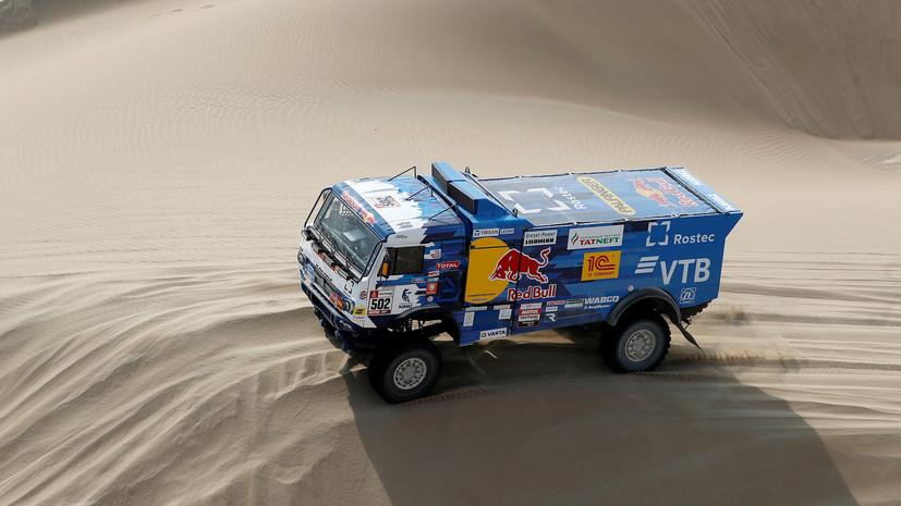«КамАЗ-мастер» лишился ещё одного экипажа на ралли-марафоне «Дакар»