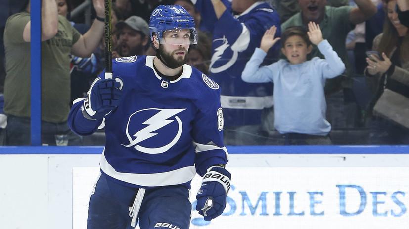 Кучеров — первый игрок НХЛ, набравший 75 очков в 45 матчах в XXI веке