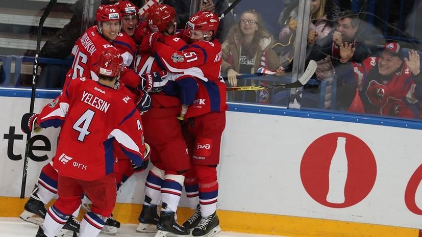 «Локомотив» одержал победу над «Адмиралом» в регулярном чемпионате КХЛ