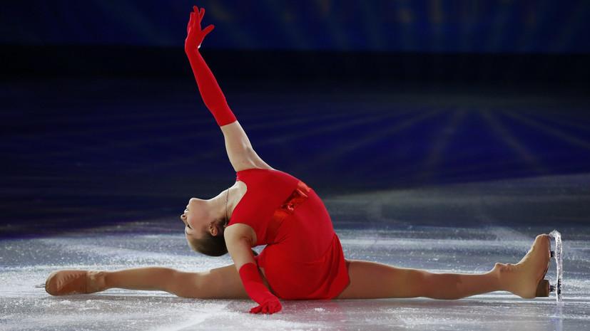 Фигуристка Липницкая выступила в шоу Плющенко на Красной площади