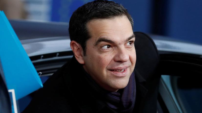 Ципрас принял отставку министра обороны Греции