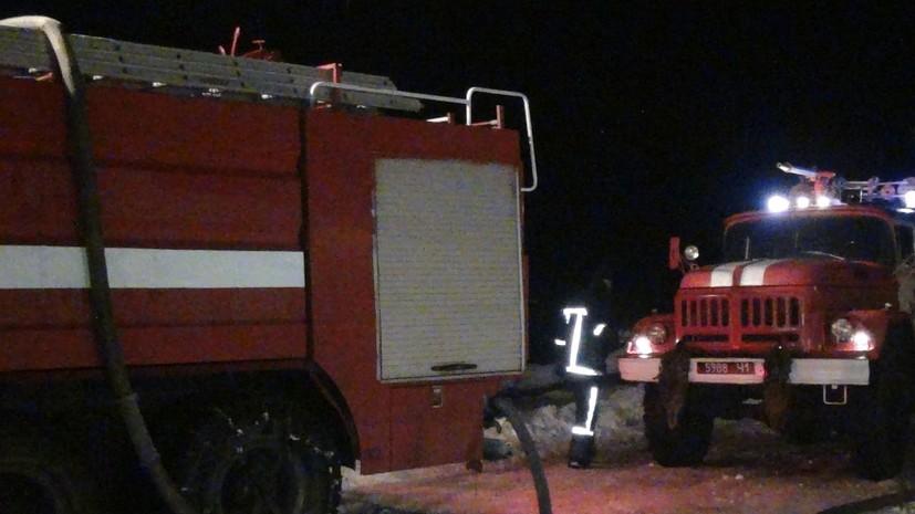 На Украине ликвидировали пожар на нефтехимическом заводе