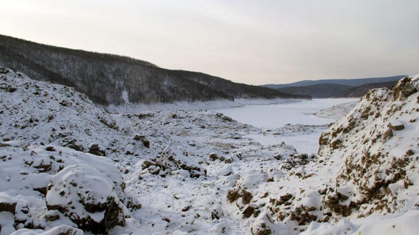 Более 300 тонн взрывчатки доставят к месту обвала сопки под Хабаровском