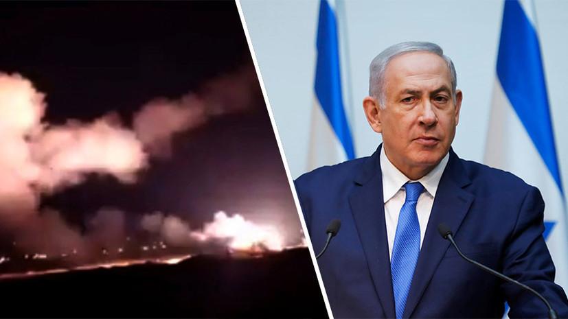 Атака на аэропорт Дамаска: Нетаньяху подтвердил информацию о нанесении ВВС Израиля ударов в Сирии