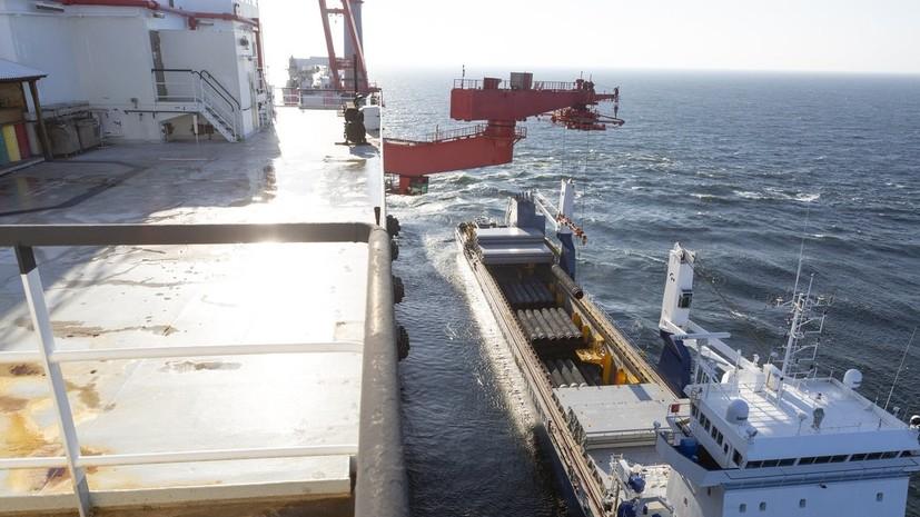В ФРГ отреагировали на слова посла США о возможных санкциях из-за «Северного потока — 2»