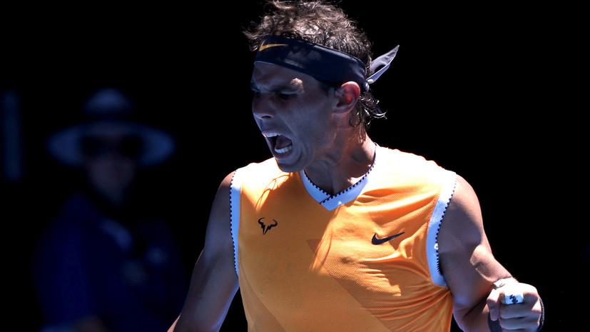 Надаль обыграл Дакворта в первом круге Australian Open