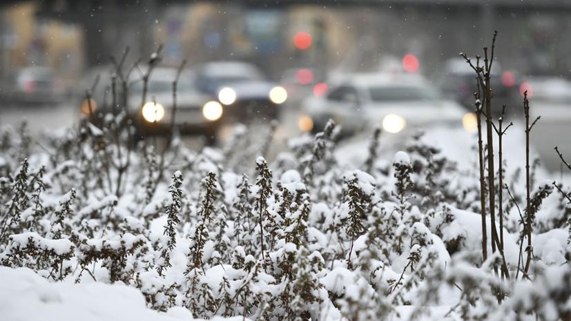 Синоптики прогнозируют похолодание в Москве с 16 января