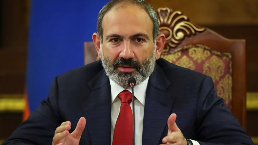 Президент Армении назначил Пашиняна премьер-министром страны