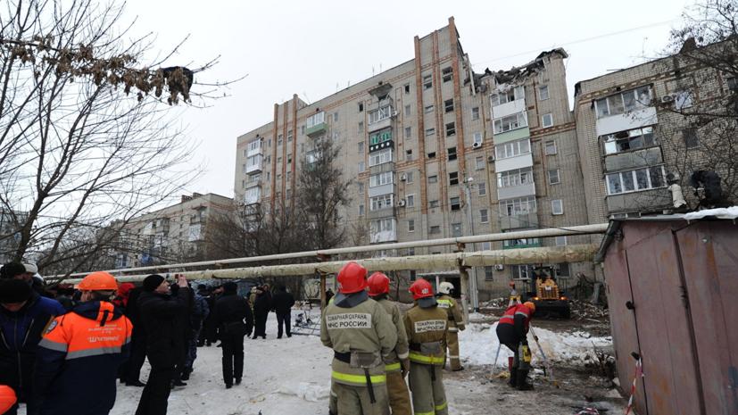 Альпинистов из Сочи привлекут для разбора завалов после взрыва газа в Шахтах
