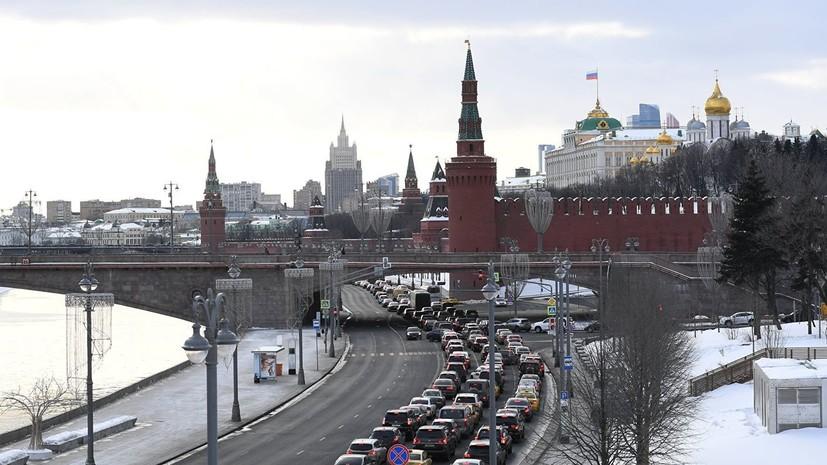 Синоптики предупредили о ветре до 15 м/с в Москве 15 января