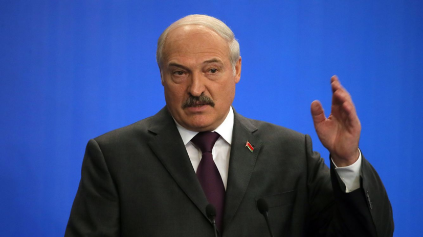 Лукашенко призвал закончить «недоразумение» в Донбассе