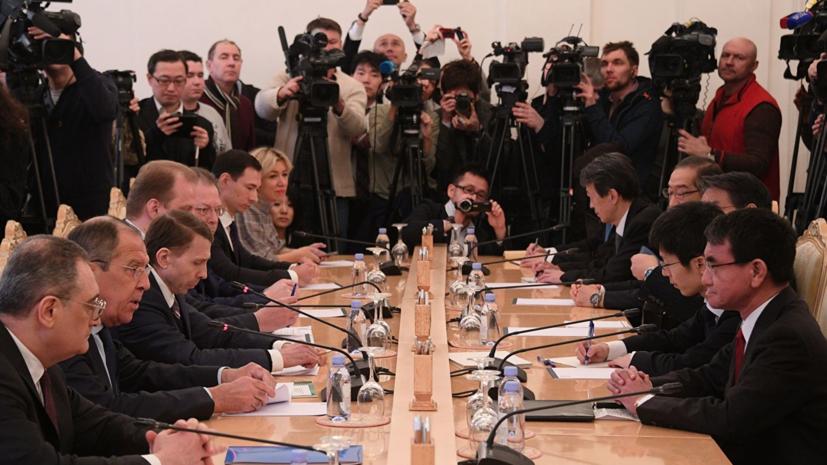 Эксперт прокомментировал начало переговоров по мирному договору с Японией