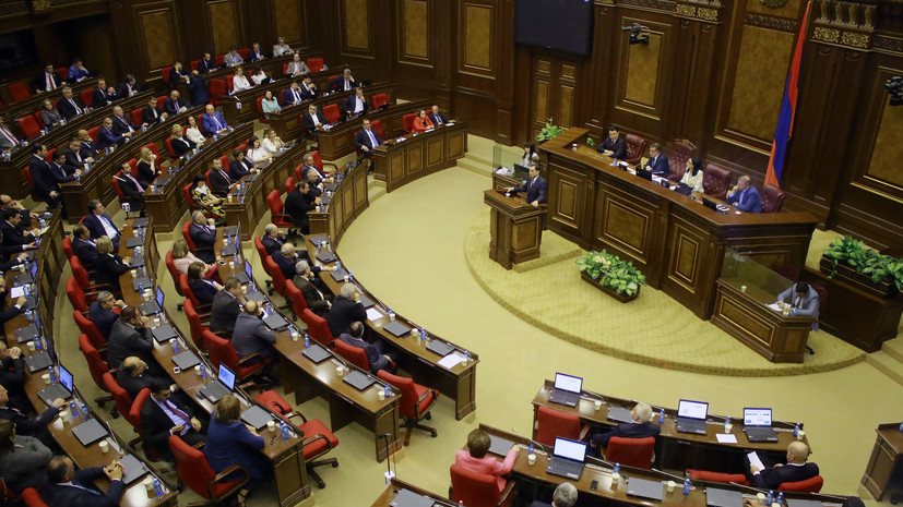 Мирзоян стал спикером парламента Армении