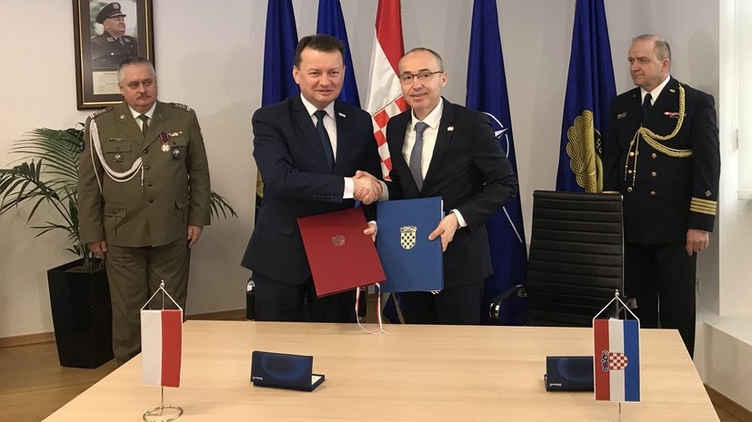 Польша и Хорватия заключили договор о военном сотрудничестве